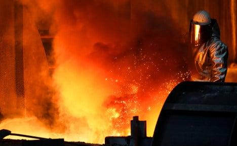 ThyssenKrupp books huge stainless steel hit