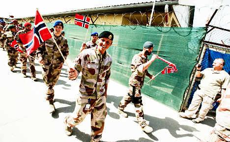 Norway troops to leave Afghanistan in 2013