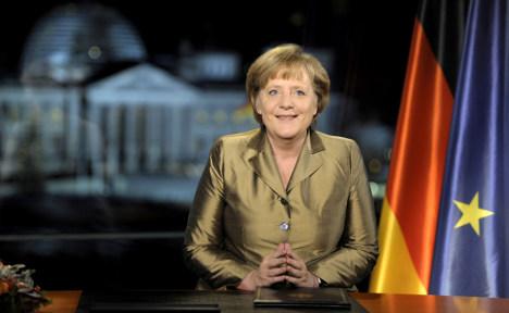 Merkel confident despite expecting 2012 troubles