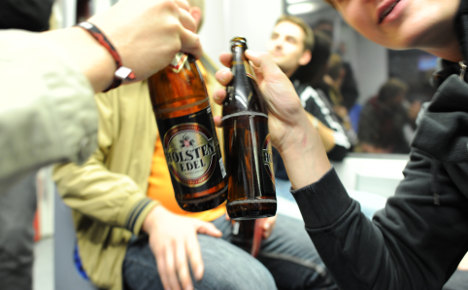 Munich calls last orders on public transport drinking