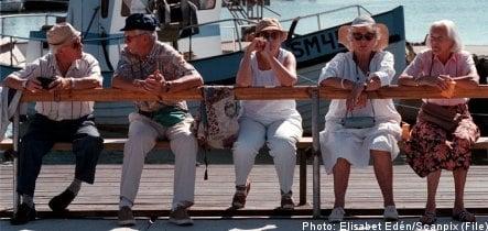 Swedish seniors stay active through exercise