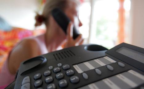 Germans spend €150 million on hold