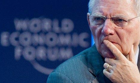 Schäuble slams Cameron for blocking EU deal