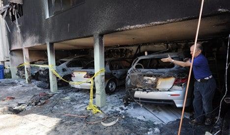Hollywood arsonist 'hated America'