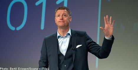 Ericsson shares nosedive on weak report