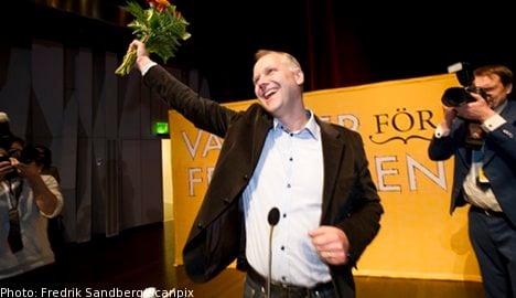 Sjöstedt chosen as new Left Party leader