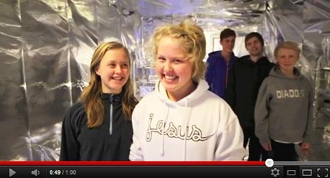Prankster wraps girls' dorm room in tinfoil
