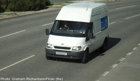 Swedish police: white van child-snatchers 'an urban myth'