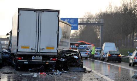 30 vehicles ensnared in mass crash