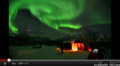 Northern lights over Sweden: a sampler
