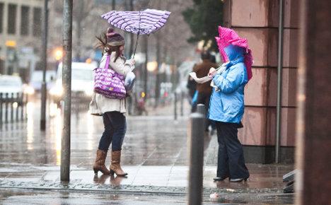 Germany braced for stormy start to 2012