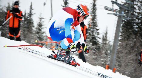 Swiss veteran Cuche to retire at season's end
