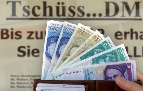 13.31 billion Deutsche Marks still missing