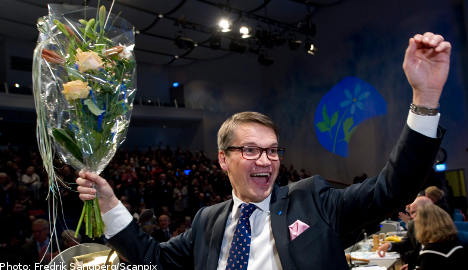 Hägglund re-elected as Christian Democrat head