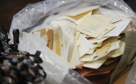 New tool unravels Stasi secret files