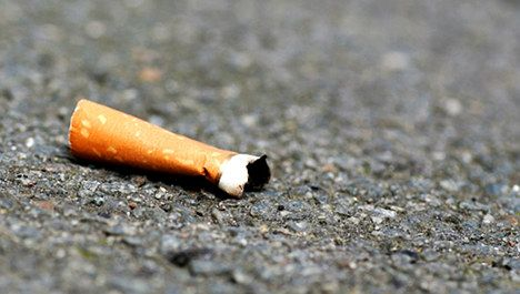 Smokers face fines for discarded butts