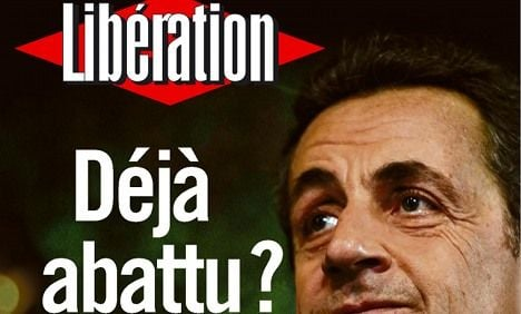 Faltering Sarkozy mulls end of career