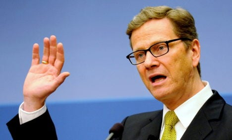 Westerwelle counters US Europe-bashing
