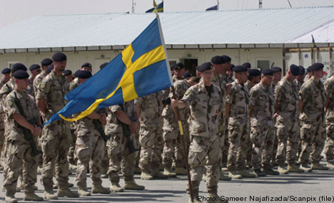 'Slave-like conditions' on Swedish army base