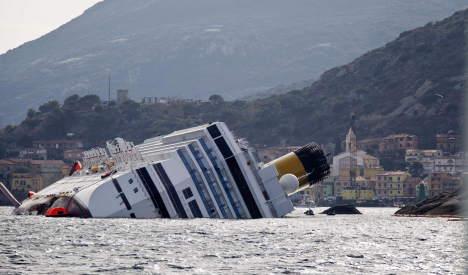 Costa passengers seek damages after wreck
