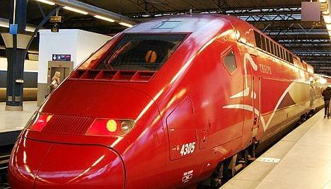 Disruption on Eurostar and Thalys trains