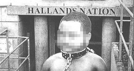 Artist avoids jail for 'negro slave taunt'
