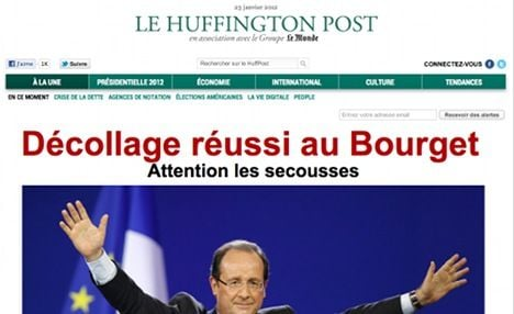 French Huffington Post goes online