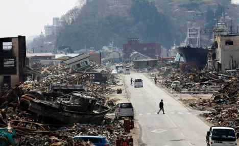 Disasters made 2011 most expensive year ever