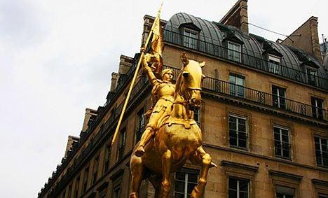 Sarkozy in tug-of-love over Joan of Arc