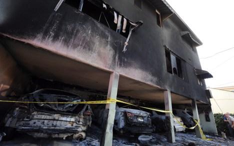 German arson suspect arrested in Los Angeles