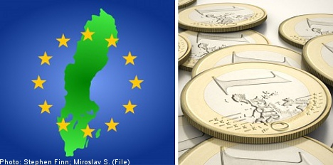 Sweden can back eurozone pact: Riksdag