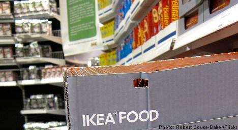 Ikea affirms bid to ditch Swedish food brands