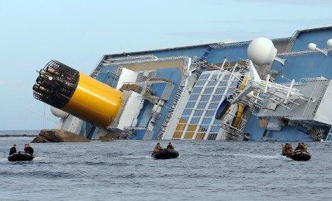 Cruise survivors unable to board train home
