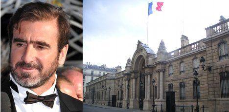 Cantona takes shot at French presidency