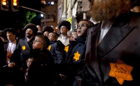 Jews 'ashamed' of Israeli Holocaust protest