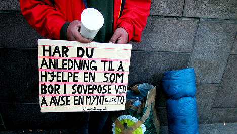 Oslo braces for wave of homeless Europeans