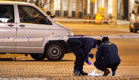 Two men shot in Malmö
