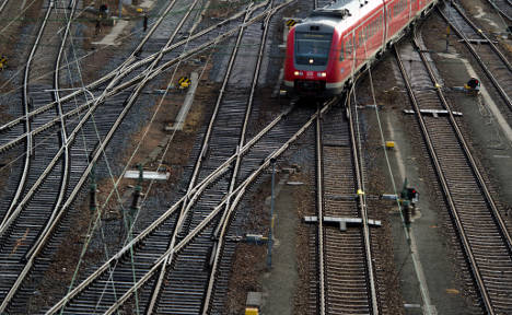 Hamburg has most delayed trains