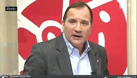 'High hopes' for Löfven as Social Democrat head