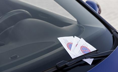 Tattletale keeps records on parking violators