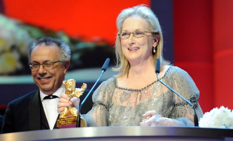 Meryl Streep wins Golden Bear for life work