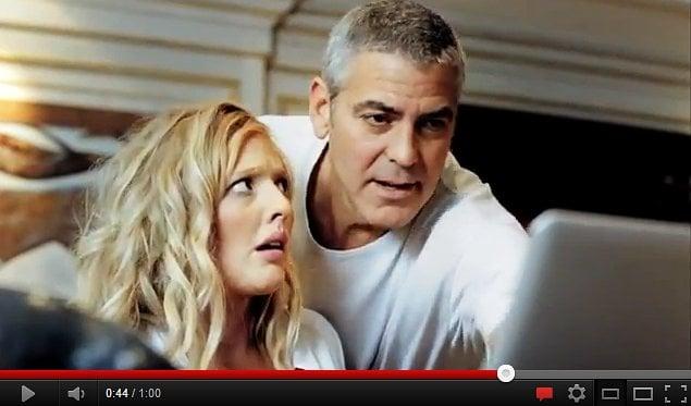 George Clooney clip bags Norwegian ad award