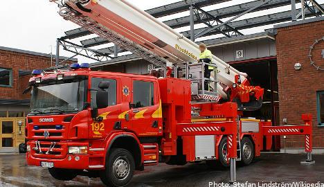 One dead, 70 homeless after Gothenburg blaze
