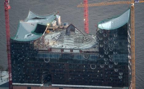 Hamburg sues over pricey, late concert hall