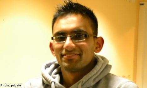 Indian grad student missing in Blekinge