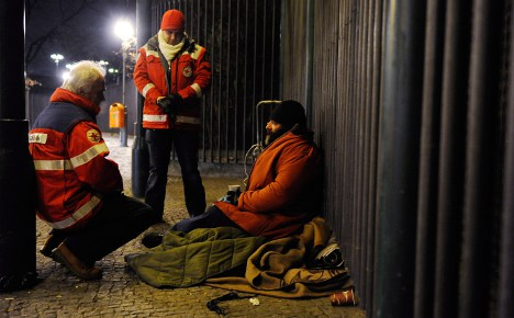 Compassion needed for homeless out in cold