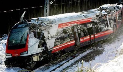 High-speed test train derails in Norway