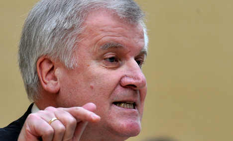 Seehofer calls for people's vote on euro