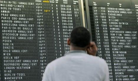 More strike chaos hits Frankfurt Airport