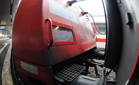 Stowaway found clinging to outside of train